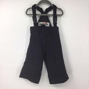 Obermeyer Black Snow Winter Bib Pants Kids